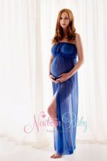 Chiffon Maternity Dress - many colours